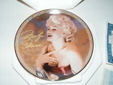 "Bradford Exchange Lmtd. Ed. ""Blonde Passion"" 8"" Marilyn Monroe Plate w/COA"