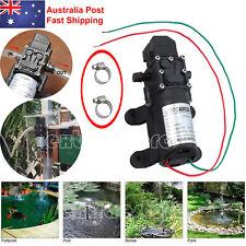 12v 6l/min High Pressure Micro Diaphragm Water Pump 130psi for Car Caravan Boat