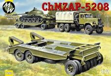 Military Wheels 1/72 ChMZAP-5208 Tank Transport Trailer # 7260