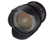 Samyang 10mm T3.1 VDSLR Ed as NCS CS II Canon Incl Filter Holder