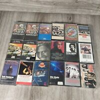 Lot 18 Classic Rock / Pop Rock-other  Vintage Cassette Tapes With Case