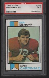 1973 Topps Dan Dierdorf #322 PSA 5