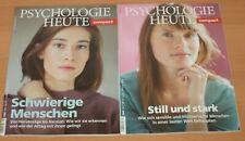 2 X PSYCHOLOGIE HEUTE compact Heft 56 und 57 aus 2019 Neuwertig!