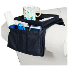 6 Pocket Arm Rest Organizer Sofa Couch Table Top Personal Objects Remote Control