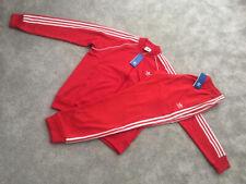 Mens Adidas Originals Superstar SST FZ Jacket Top & Bottoms Pants Tracksuit Set