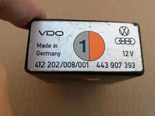 Audi Relais Steuergerät leerlaufstabilisierung 447907393 447907393J