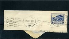 SOUTH AFRICA  ,>''UNION CASTLE LINE''  'frag cover''   >20-VI  1939> TO   U.S.