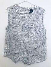 David Lawrence Silk Size 12 Singlet Top