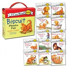 My First I Can Read Biscuit Phonics Fun Box Set by Alyssa Satin Capucilli