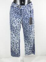 MARC CAIN Damen Jeans Hose Gr 44 N6 / Blau Muster Neu mit Etikett  ( R 4132 )