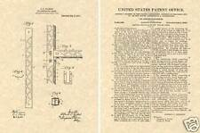 1913 Gilbert ERECTOR SET PATENT Art Print READY TO FRAME!!!!! original toy