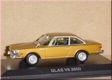 Glas V8 2600 ( 1966-1967 ) - gold golden or oro ouro met. - Norev 820526 - 1:43