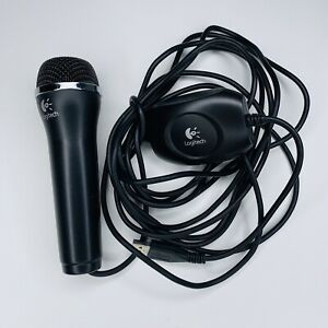 Logitech Rock Band Microphone Black USB MIC A-0060A Xbox 360, PS3, Wii and PC
