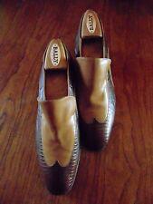 Mens Vtg Nunn Bush  Loafer Croc/Alligator Shoes Sz. 9