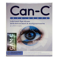 Can-C Eye-Drops Cataract Treatment Without Surgery, (2 X 5 ml Vials)