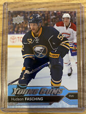 2016-17 Upper Deck Series 1 HUDSON FASCHING Young Guns Rookie #242 SABRES