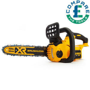 DeWalt DCM565N 18v XR Li-ion Cordless Brushless Compact Chainsaw 30cm Body Only
