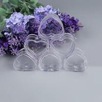 50PCS Cosmetic Empty Jar Pot Cream Lip Balm Jar Bottle Box Container Case U K