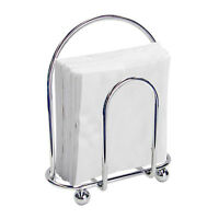 Wire Napkin Holder Home Basics Chrome Dining Room Kitchen