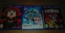 Pack juegos ps vita