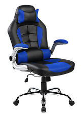 Merax Gaming Chair Racing Executive High Back PU Leather Office Chair Computer