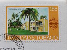 1976 Trinidad & Tobago Stamp & 25 Cents Coin BU Mint Collector Set SB5533
