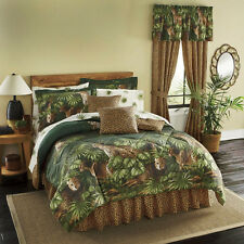 Cheetah, Leopard, Jungle, Wild Cat Full Comforter Set (8 Piece Bed In A Bag)