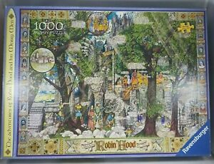 Ravensburger Art by Albert Lorenz The Adventures of Robin Hood 1000 Piece Puzzle