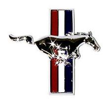 New! 1964-1968 Ford Mustang Fender Emblem Running Horse Chrome Right Side