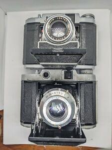 VTG MAMIYA 6 SIX RangeFinder Camera x2 - ZUIKO Sekor 75mm F/3.5 - Japan