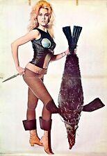 Barbarella horror sci-fi movie memorabilia poster design interior