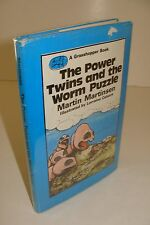 The Power Twins & Worm Puzzle by Ken Follett True UK 1st/1st Hardcover - RARE