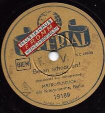 Matrosenchor der Kriegsmarine 1941 : Besan schoot an !