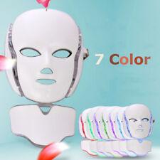 7 Colors Face Neck Mask Skin Microcurrent LED Photon Rejuvenation Beauty Machine