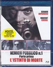 Blu-ray + Dvd NEMICO PUBBLICO N. 1 ♦ PARTE PRIMA ♦ L'ISTINTO DI MORTE nuovo 2009