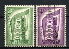 Belgium 1956 SG#1582-3 Europa Used Set #A38344