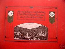 Festbericht Freiwilligen Feuerwehr Baden-Baden 1907