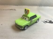 Disney Cars 2 #6 WGP Fan Lime Green BMW Diecast