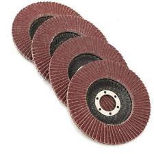 "25pcs 125MM Sanding Flap Discs Grinding Wheels Aluminum Oxide 80 Grit 5"" Flapper"