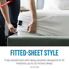Cotton Pad Bedding Cover Topper Sheet Full Size Mattress Protector Memory Foam