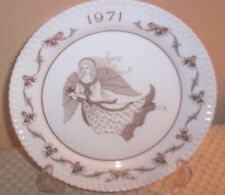 Spode England Bone China Christmas Plate 1971~ Angels Singing ~H179