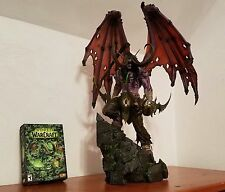 BLIZZARD ILLIDAN STORMRAGE HANDCRAFTED STATUE EXTREMELY RARE! WOW in hand sealed