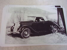 1935 FORD  ROADSTER  11 X 17  PHOTO /  PICTURE