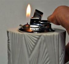 VTG Ronson table desk butane lighter porcelain Rosenthal Studio-Linie body works