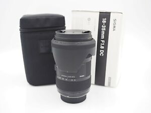Used Sigma 18-35mm f/1.8 HSM DC Lens for Nikon
