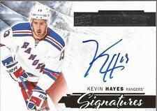 KEVIN HAYES 2015-16 UD Premier Signatures Autograph New York Rangers Auto