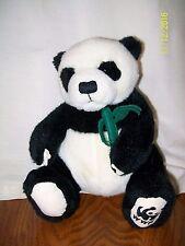 """GUND WWF World Wildlife Fund PANDA BEAR Plush 7"""" 25 Years in China"""
