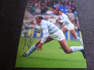 HUGO PORTA signed 8x11 inch autograph ARGENTINA RUGBY Photo InPerson 2020 Berlin