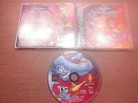 Sony PlayStation 1 PS1 PSOne CIB Complete Tested Aladdin in Nasira's Revenge