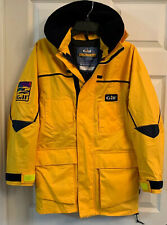 Gill Womens Sz 6 Sailing Jacket Yellow&blue, 100%waterproof Material